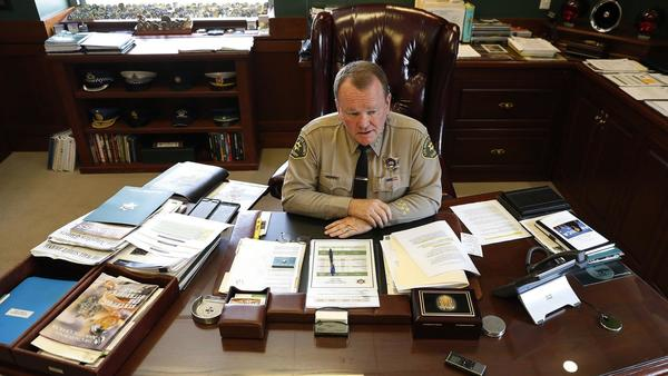 Sheriff inherited a department rotted by corruption. His reform effort is a work in progress