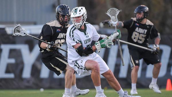 Loyola Maryland's Pat Spencer named Outstanding Attackman in men's lacrosse