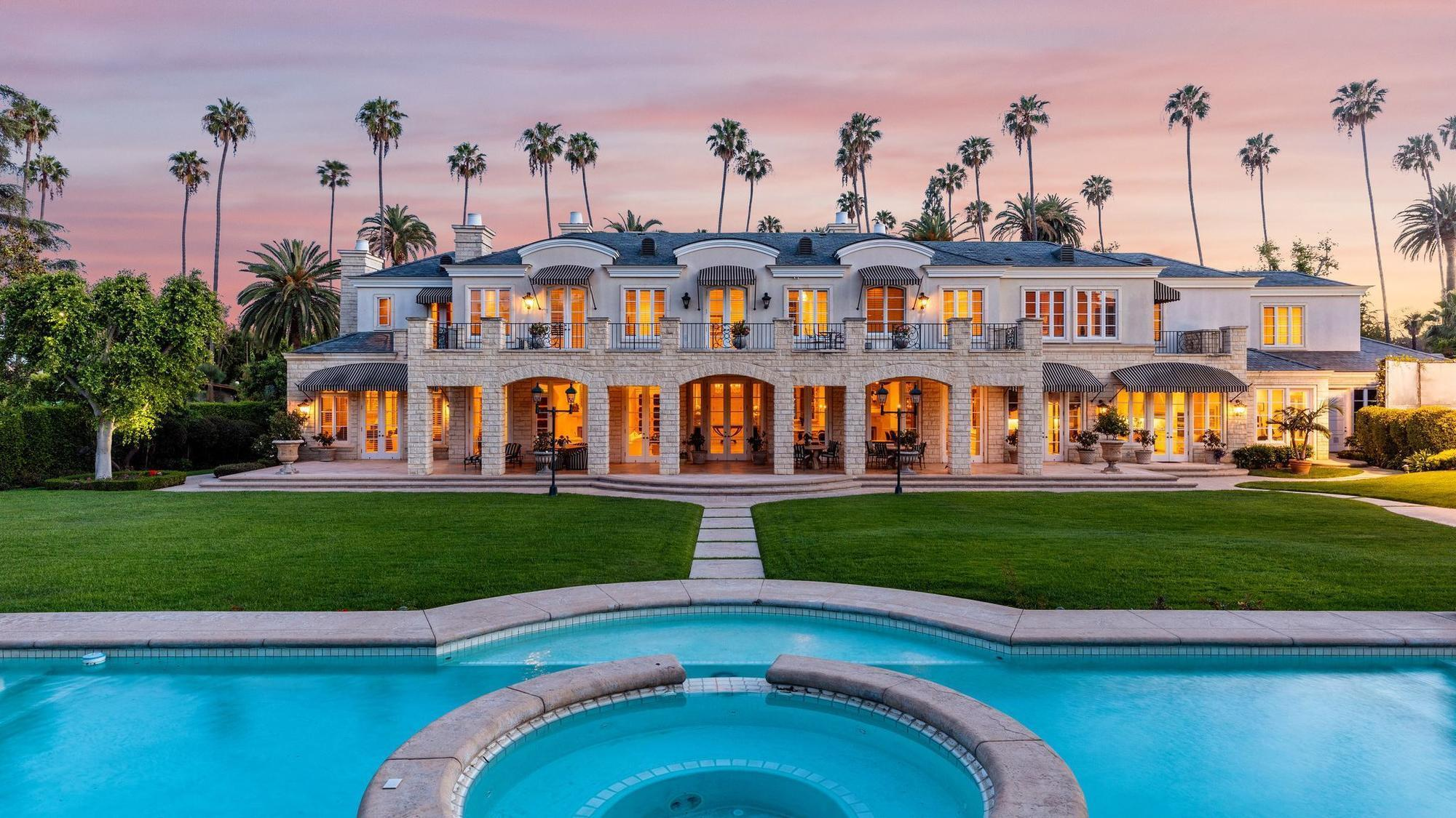 Beverly Hills mansion tied to developer Rick Caruso lists ...