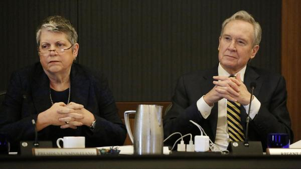UC regents approve leaner budget for Janet Napolitano | Los Angeles Times