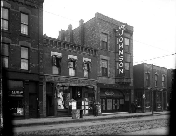 The short, sad story of Cafe de Champion — Jack Johnson's mixed-race nightclub on Chicago's South Side | Chicago Tribune