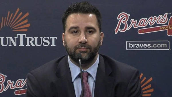 Alex Anthopoulos traded in the Dodgers for first place in Atlanta