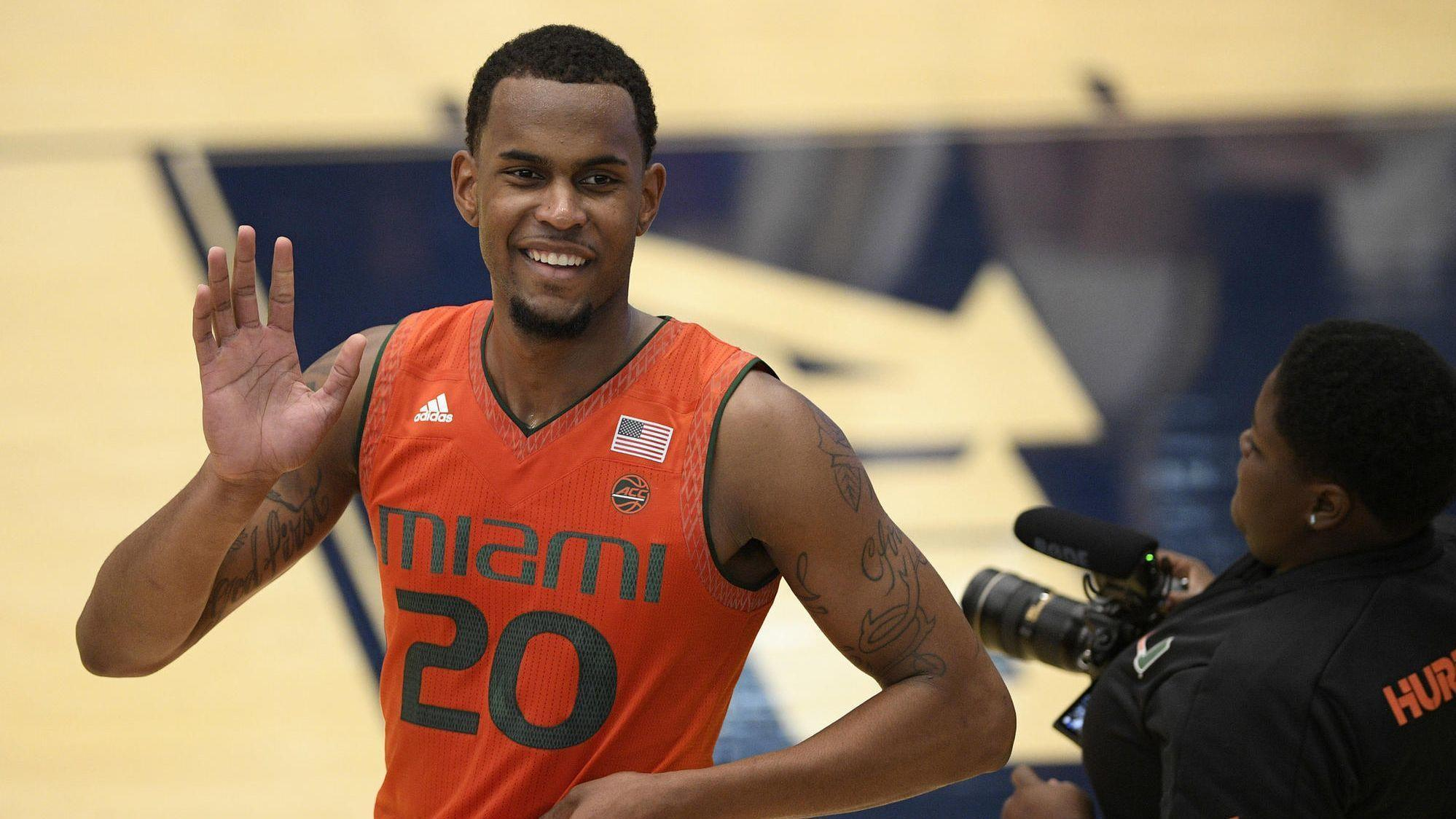 Fl-sp-um-hurricanes-dewan-huell-return-miami-nba-draft-20180526