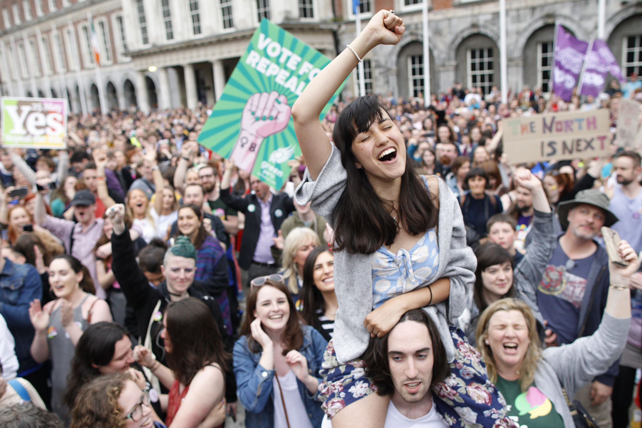 abortion in ireland On friday, ireland voted in a landslide to repeal its near-total constitutional ban  on abortion, paving the way for far less restrictive abortion laws.