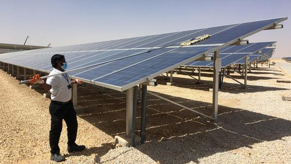 Oil-rich Saudi Arabia is turning to another resource to power the kingdom — sunshine
