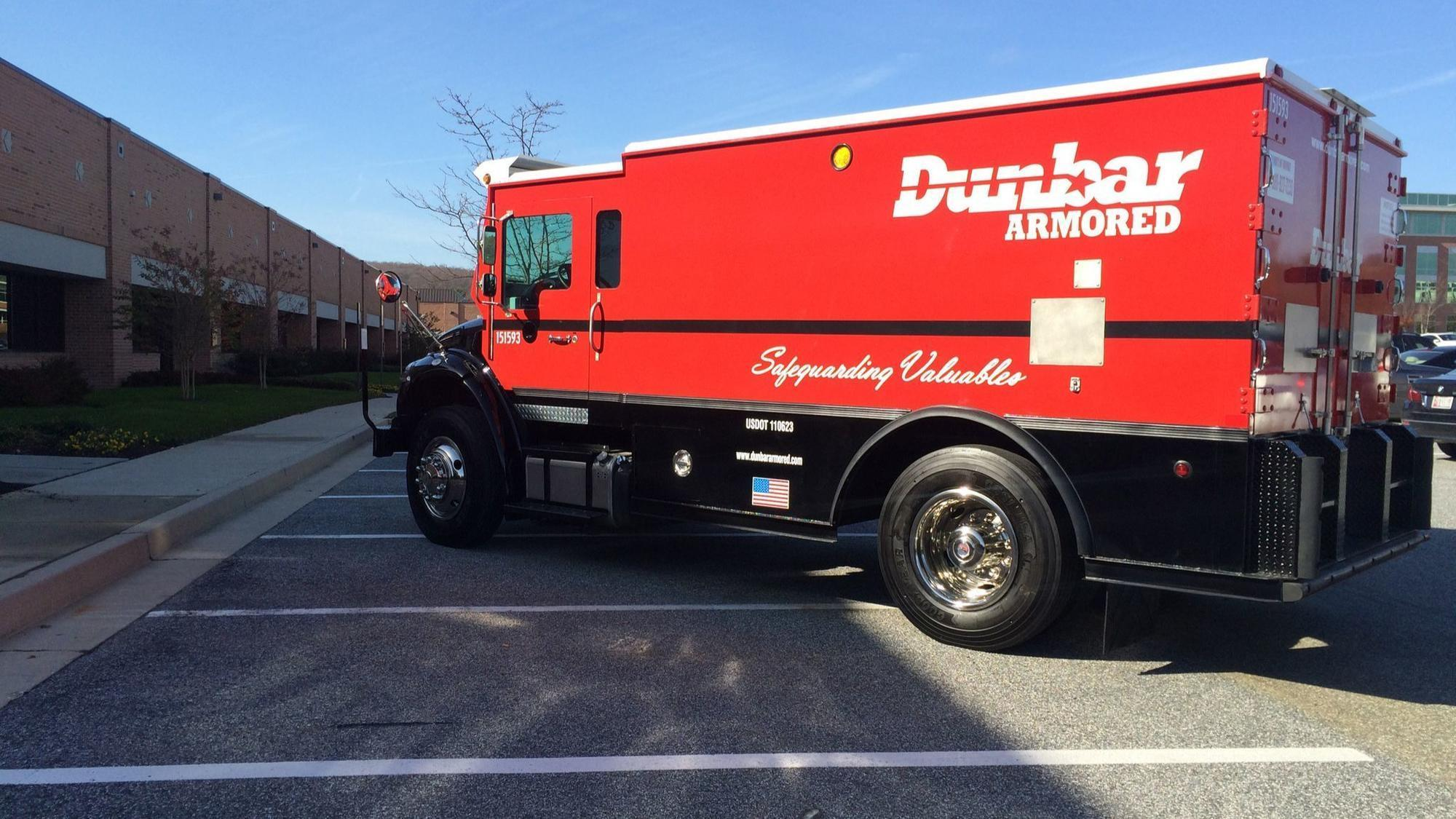 hunt valley based dunbar armored will be acquired by rival texas company baltimore sun