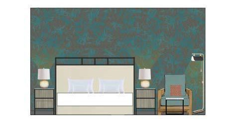 This rendering of how the hotel's renovated rooms will look was provided by The Shoal.