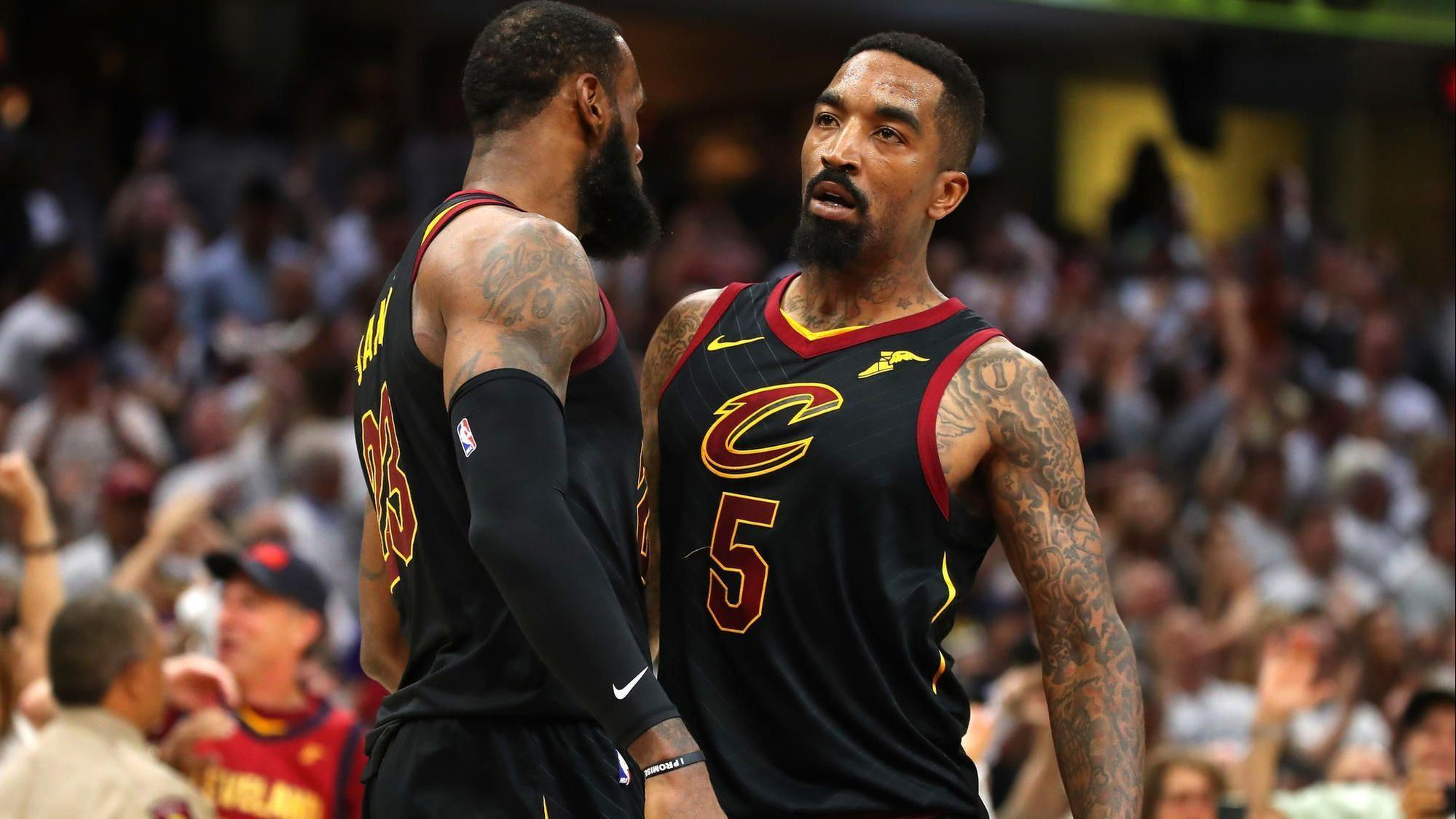 Cavaliers' J.R. Smith on playing with LeBron James: 'It's a gift and a curse' - Baltimore Sun