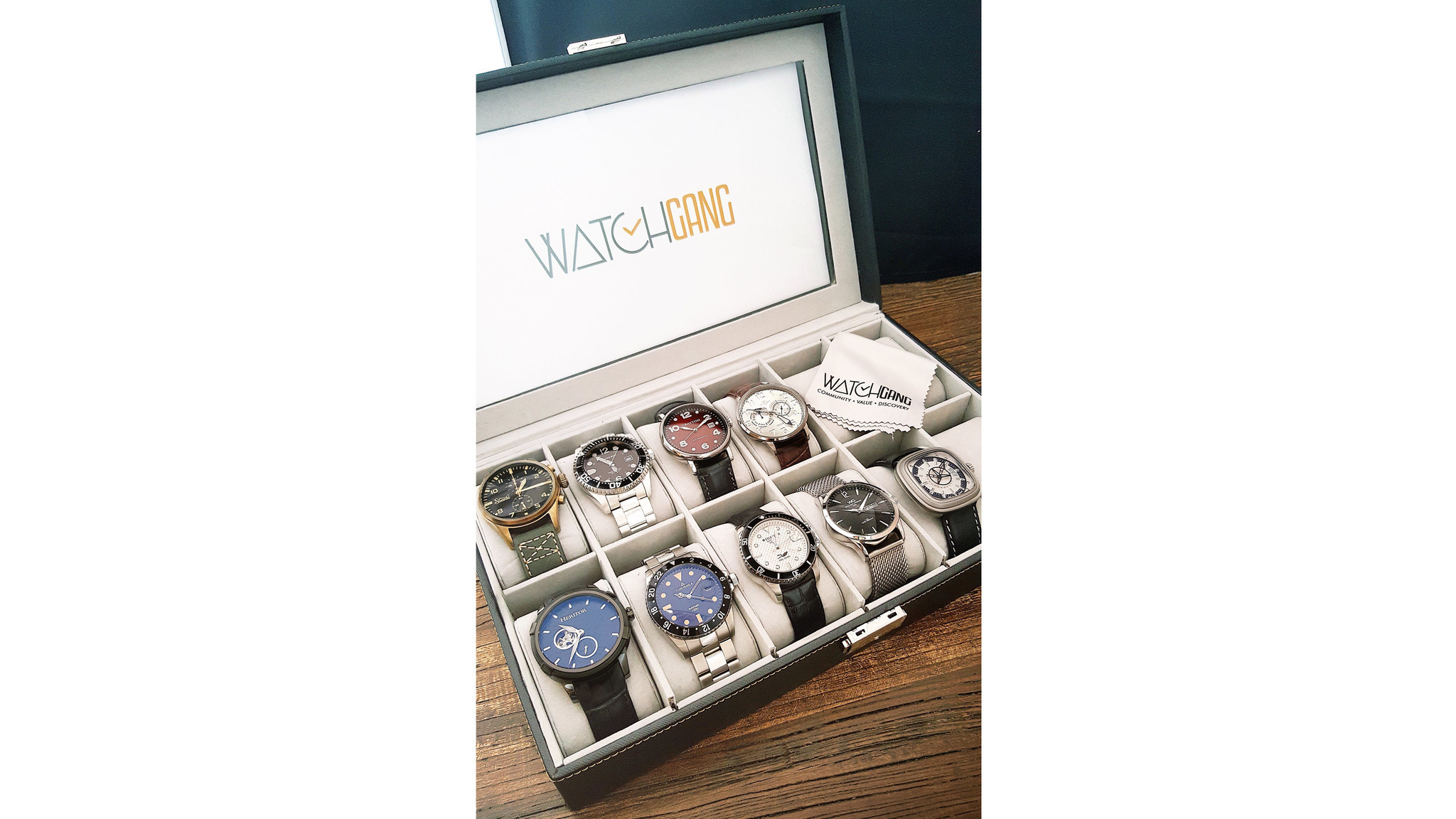 Monthly watch deliveries from Watch Gang.