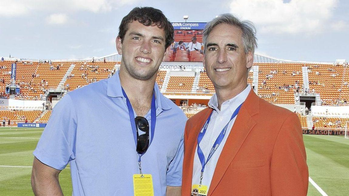 Oliver Luck, father of Indianapolis Colts QB Andrew Luck, is named XFL commissioner
