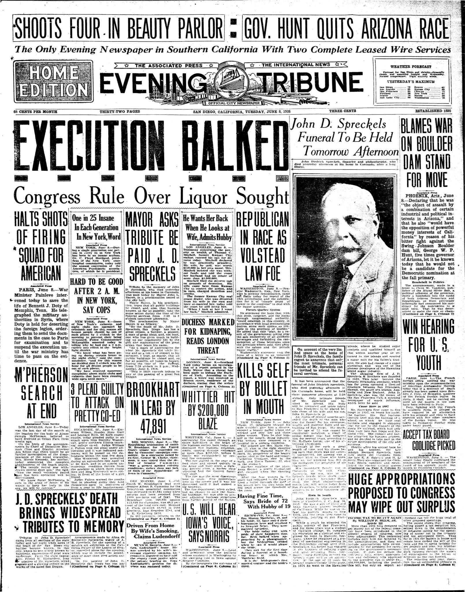 June 8, 1926