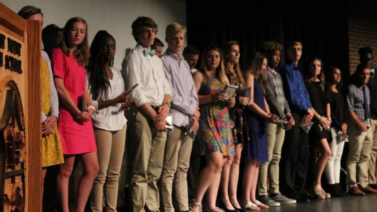WPHS Honors Athletes
