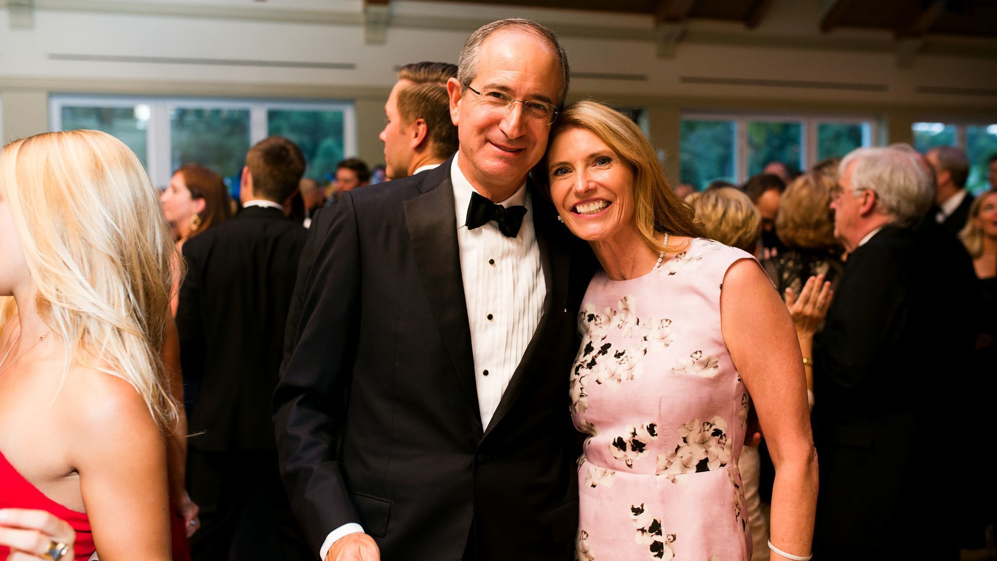 Comcast CEO Brian Roberts and his wife Aileen Kennedy Roberts in 2016