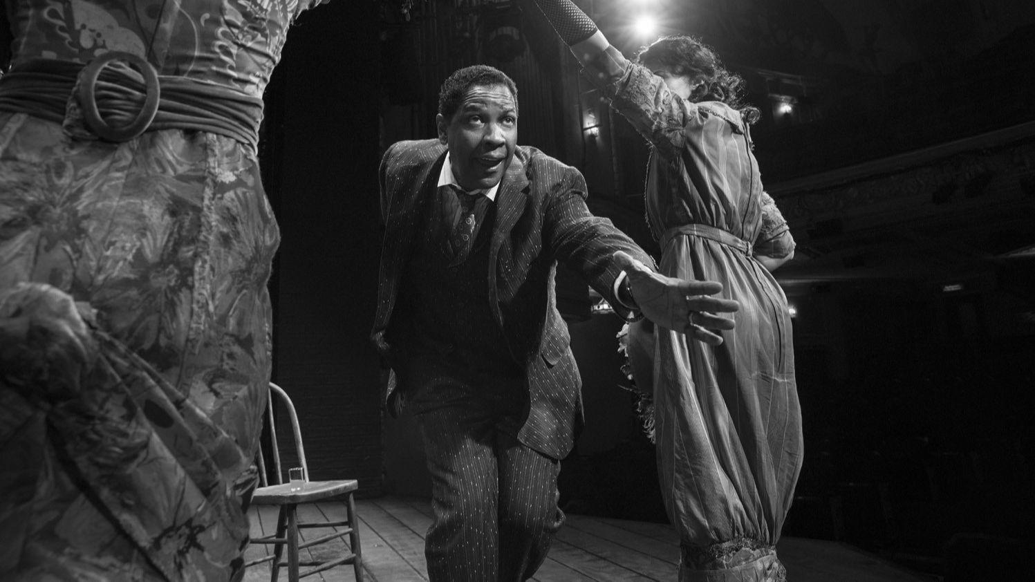 "Denzel Washington in ""The Iceman Cometh"""