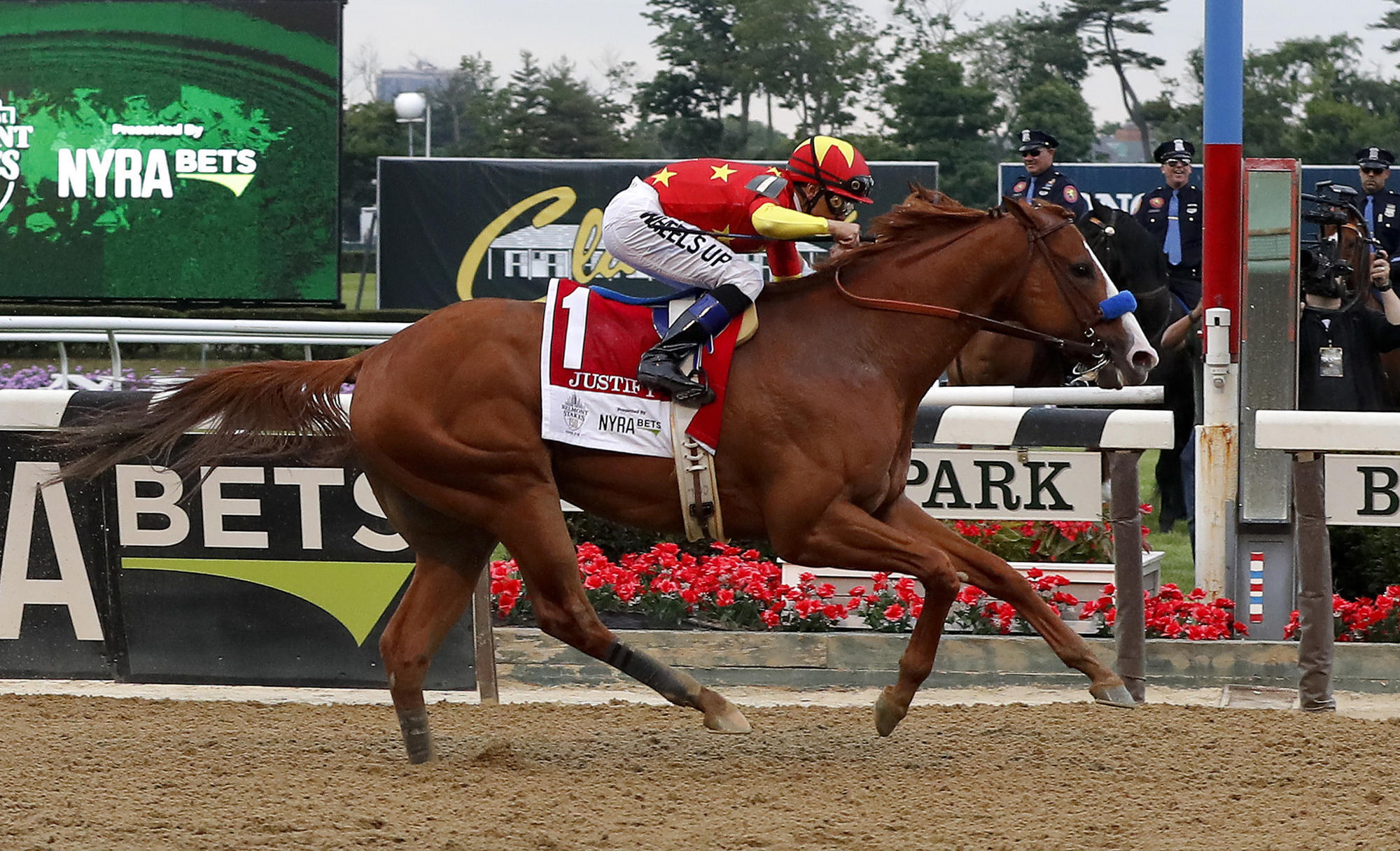 Justify Becomes 13th Triple Crown Winner With Thrilling Belmont Stakes Victory