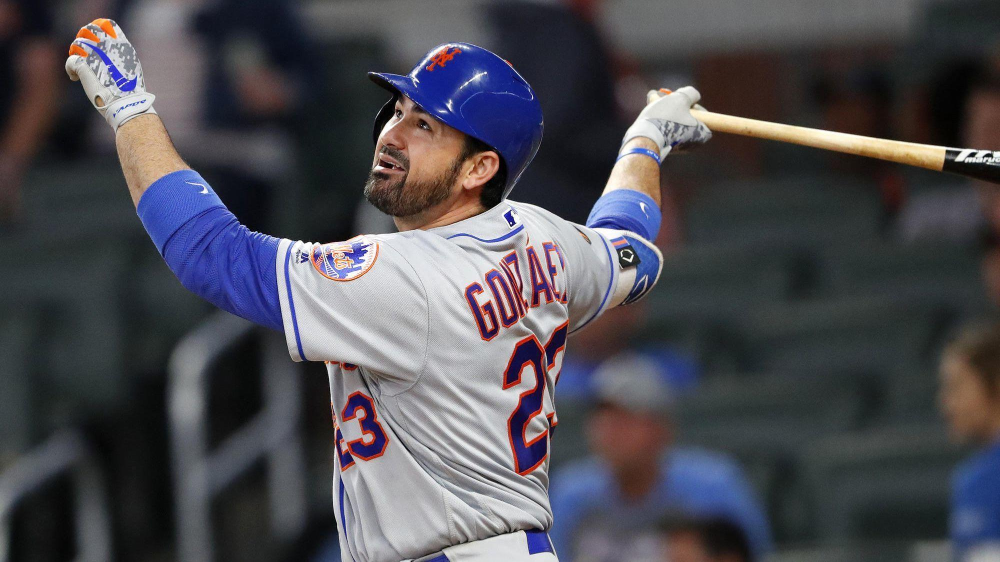 Former Dodgers first baseman Adrian Gonzalez is released by the New York Mets