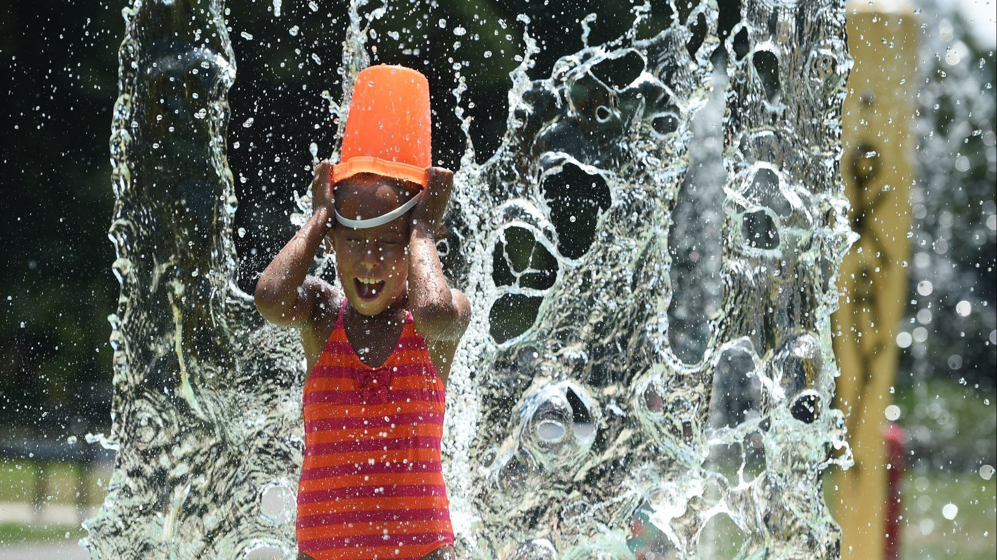 The Kids Are Hot! Hit One Of These Free Splash Pads In Greater Hartford | Hartford Courant