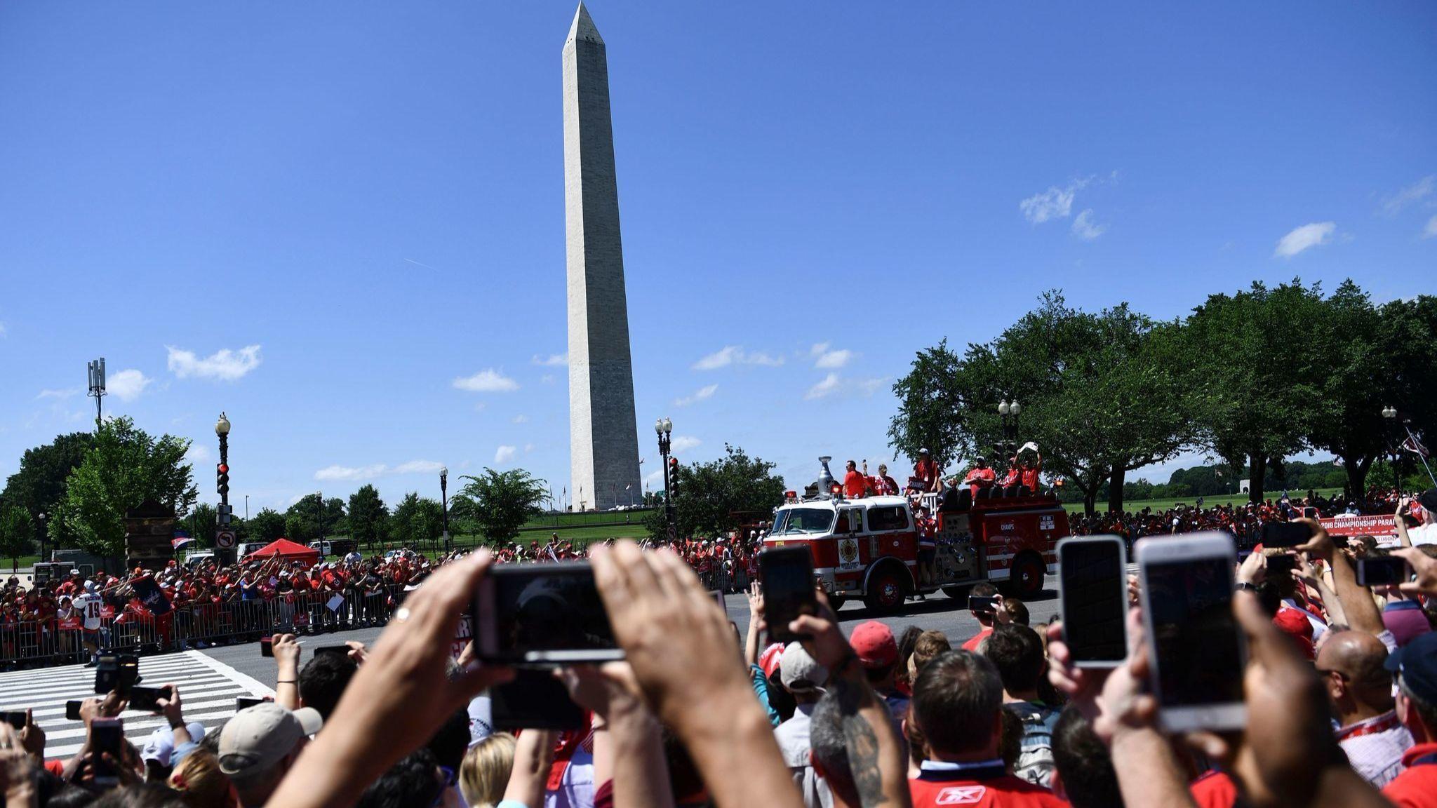 Washington Capitals' victory parade