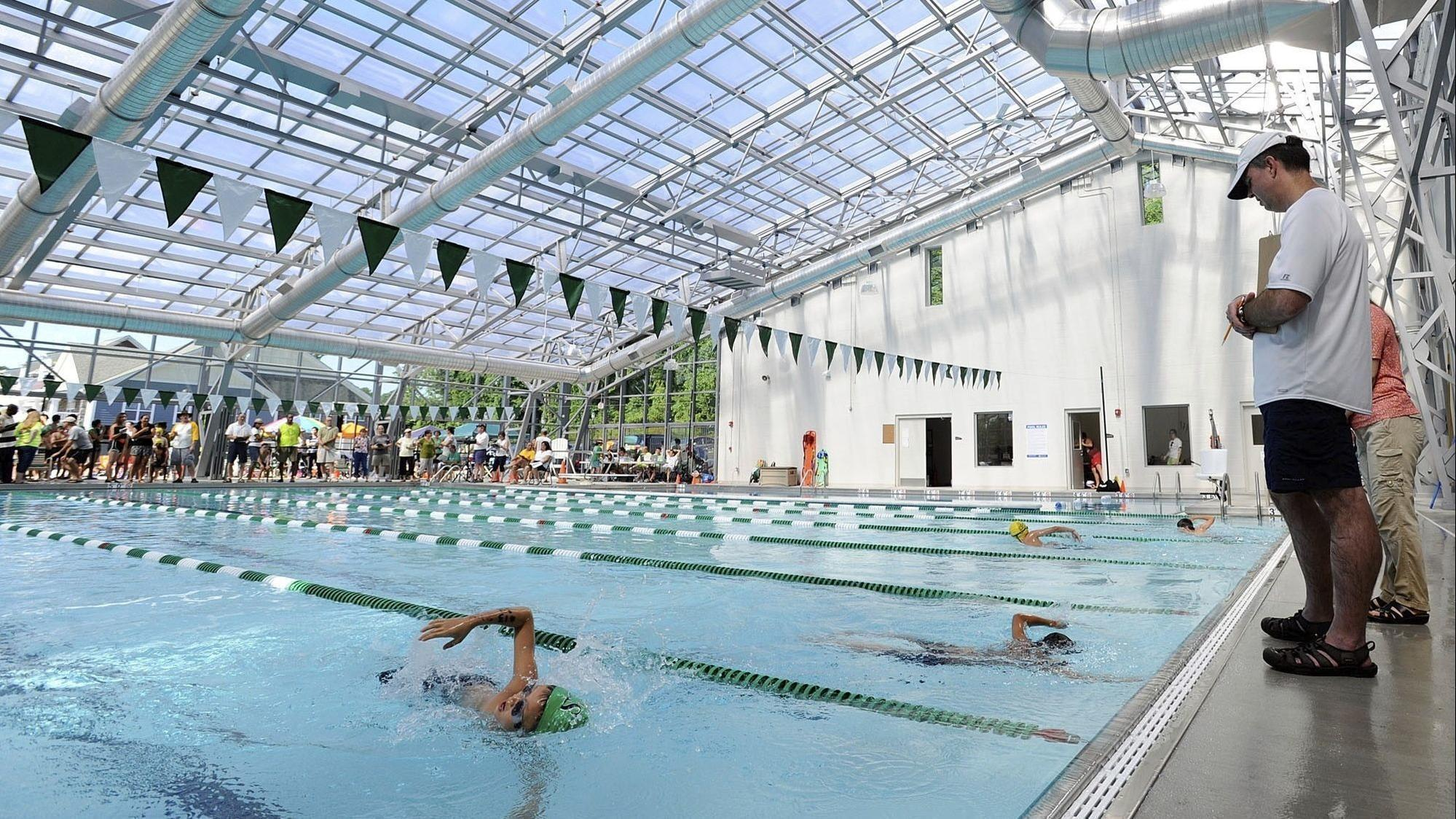 Plans glide along swimmingly for north laurel pool columbia flier for Laurel municipal swimming pool