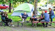 Camping in the Midwest