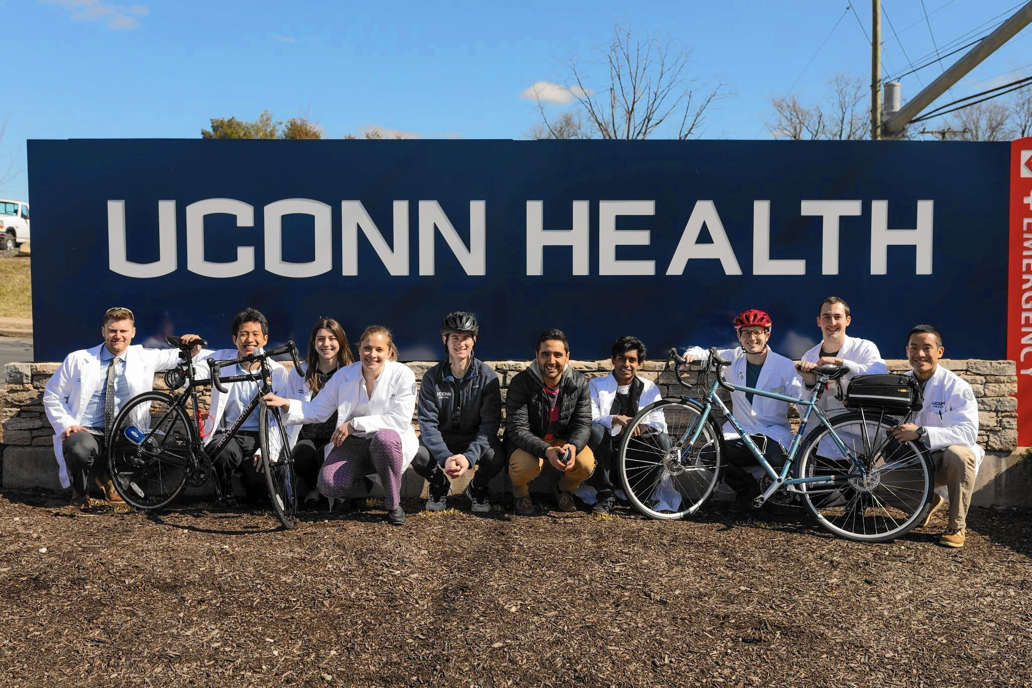 Students Taking Cross Country Bike Ride For Mental Health
