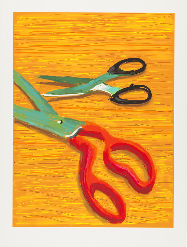 David Hockney at Shulamit Nazarian