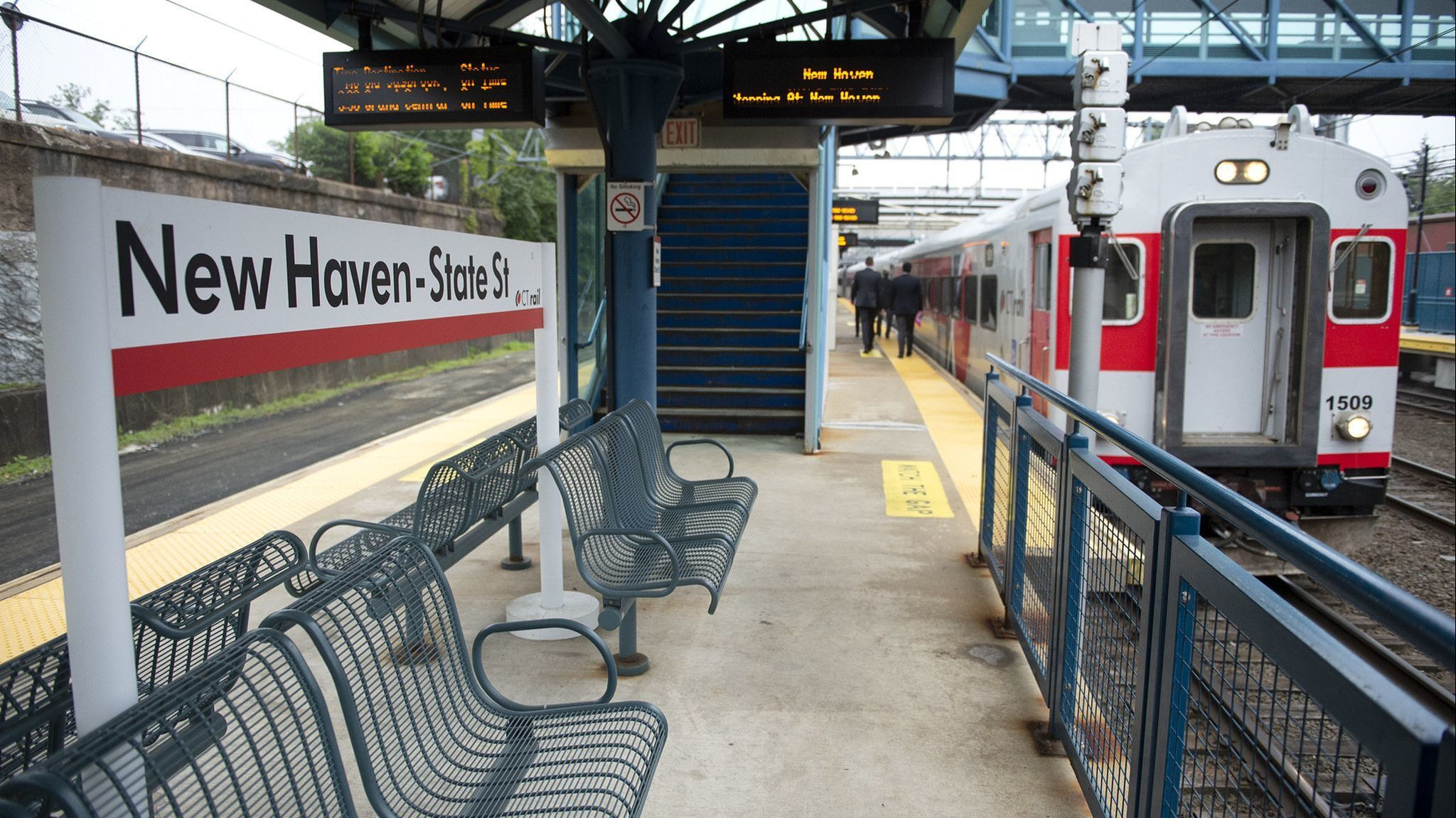 Connecticut, Massachusetts Officials To Cut Ribbon On Hartford Line | Hartford Courant