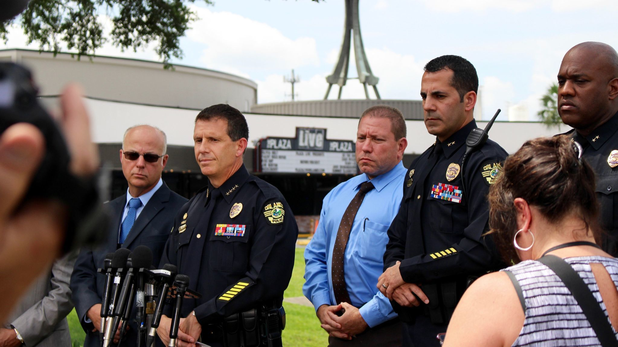 Orlando police hold press conference after singer Christina Grimmie murder