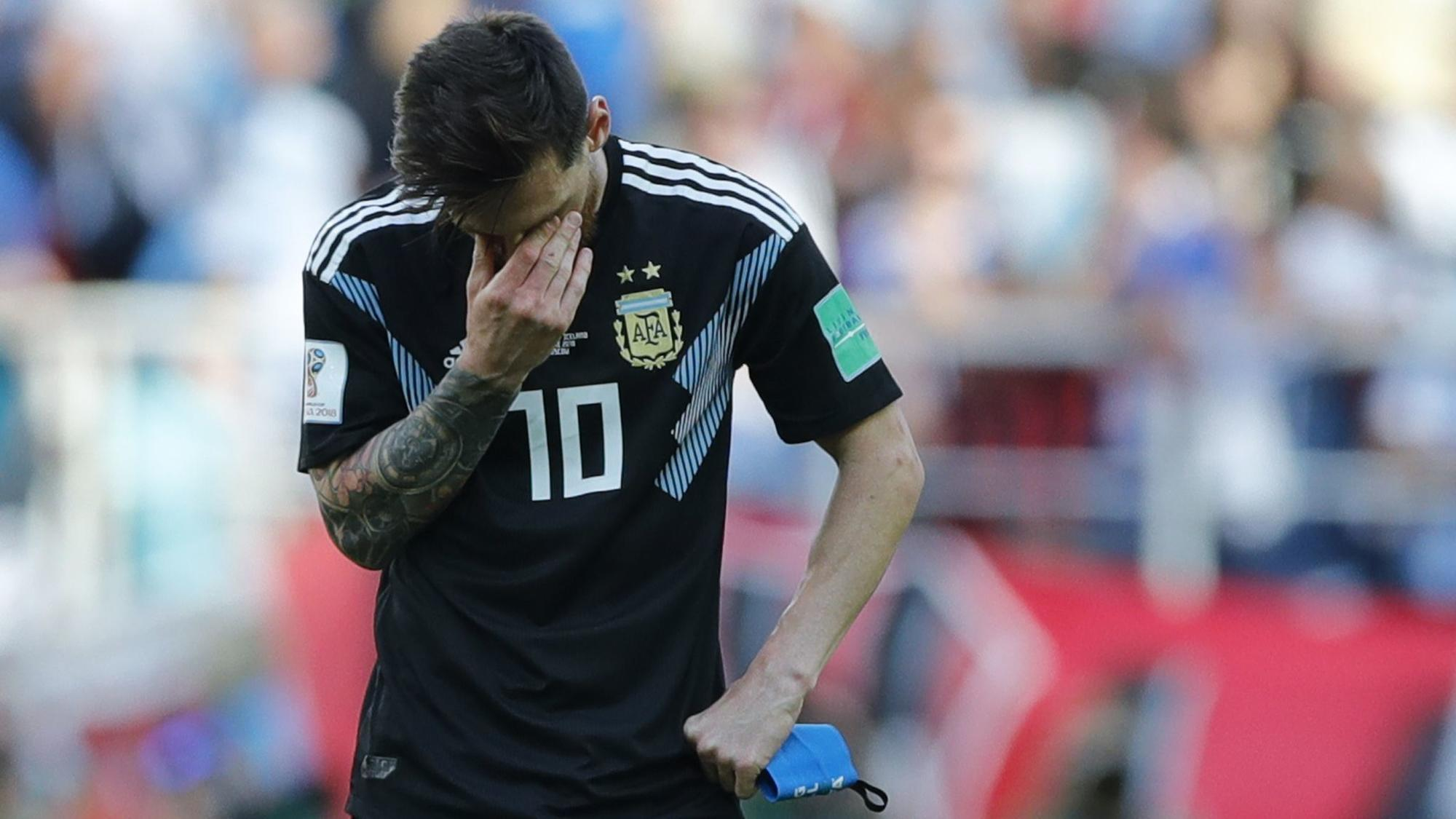 Lionel Messi misses penalty, Iceland holds Argentina to 1 ...