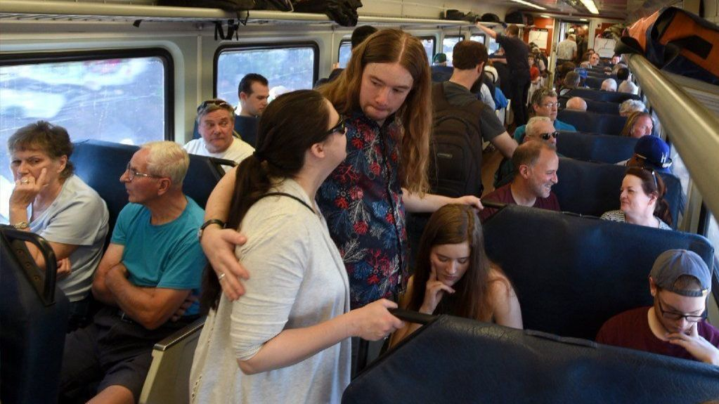 Hartford Line Trains Overwhelmed By Demand Sunday, Riders Being Turned Away And Buses Dispatched | Hartford Courant