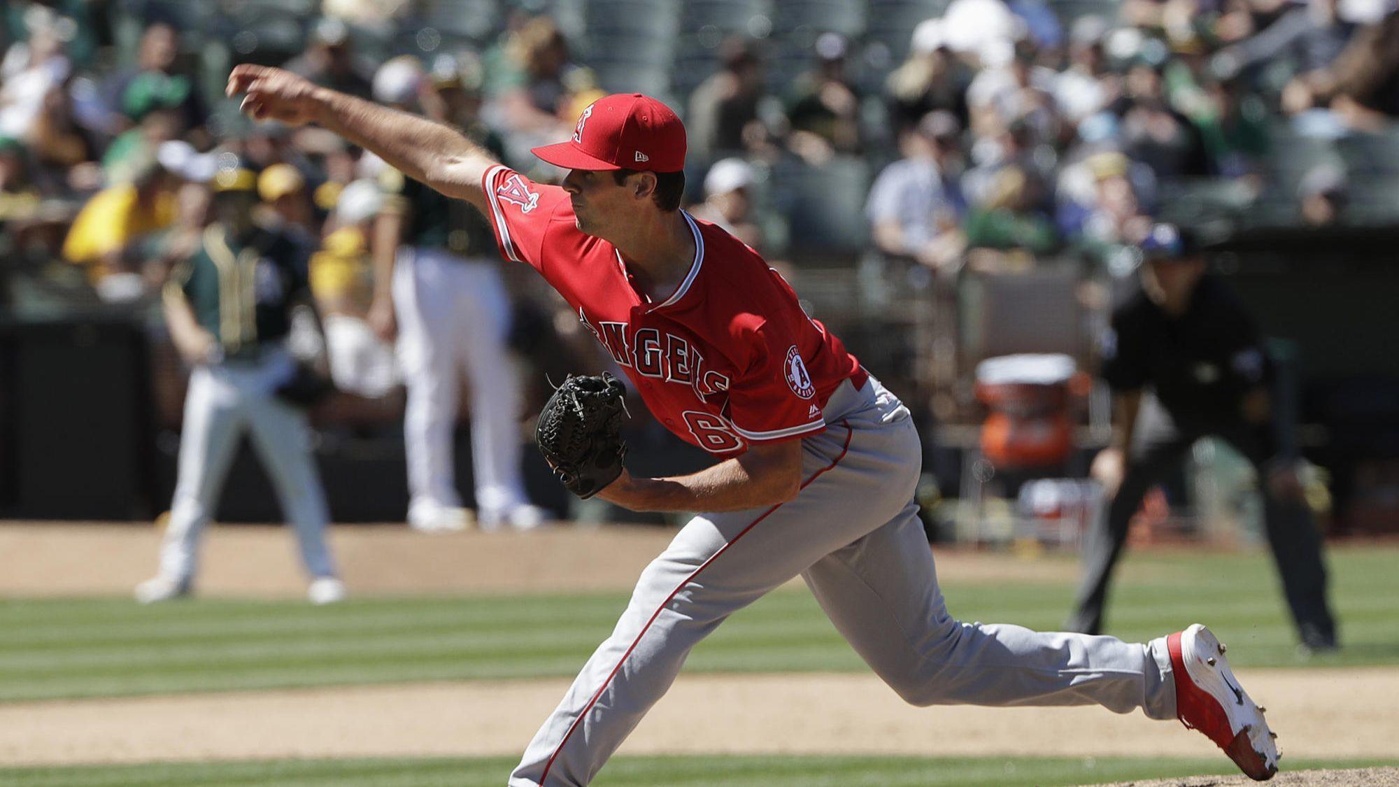 Angels pitcher Jake Jewell savoring his big moment