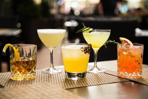 Cocktails atRoanoke.