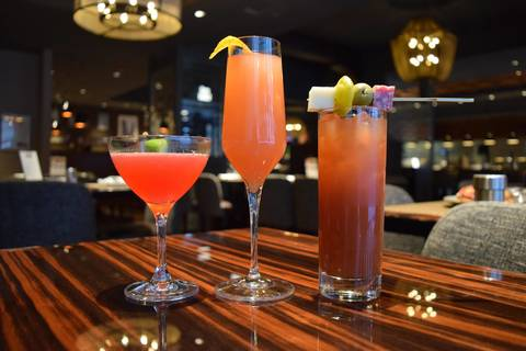 Brunch cocktails atRoanoke.
