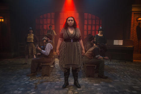 Melanie Vitaterna, T.J. Anderson, Mike Mazzocca, Kelan M. Smith, Bridget Adams-King, Eric Loughlin, Josiah Robinson, Sarah Beth Tanner and Joey Harbert in Haymarket, on stage through July 22, 2018.