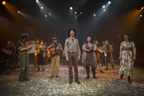 Elleon Dobias, Joey Harbert, Mike Mazzocca, Sarah Beth Tanner, Eric Loughlin, T.J. Anderson, Erik Pearson, Bridget Adams-King, Melanie Vitaterna, Josiah Robinson, Kelan M. Smith and Amanda Giles in Haymarket, on stage through July 22, 2018.