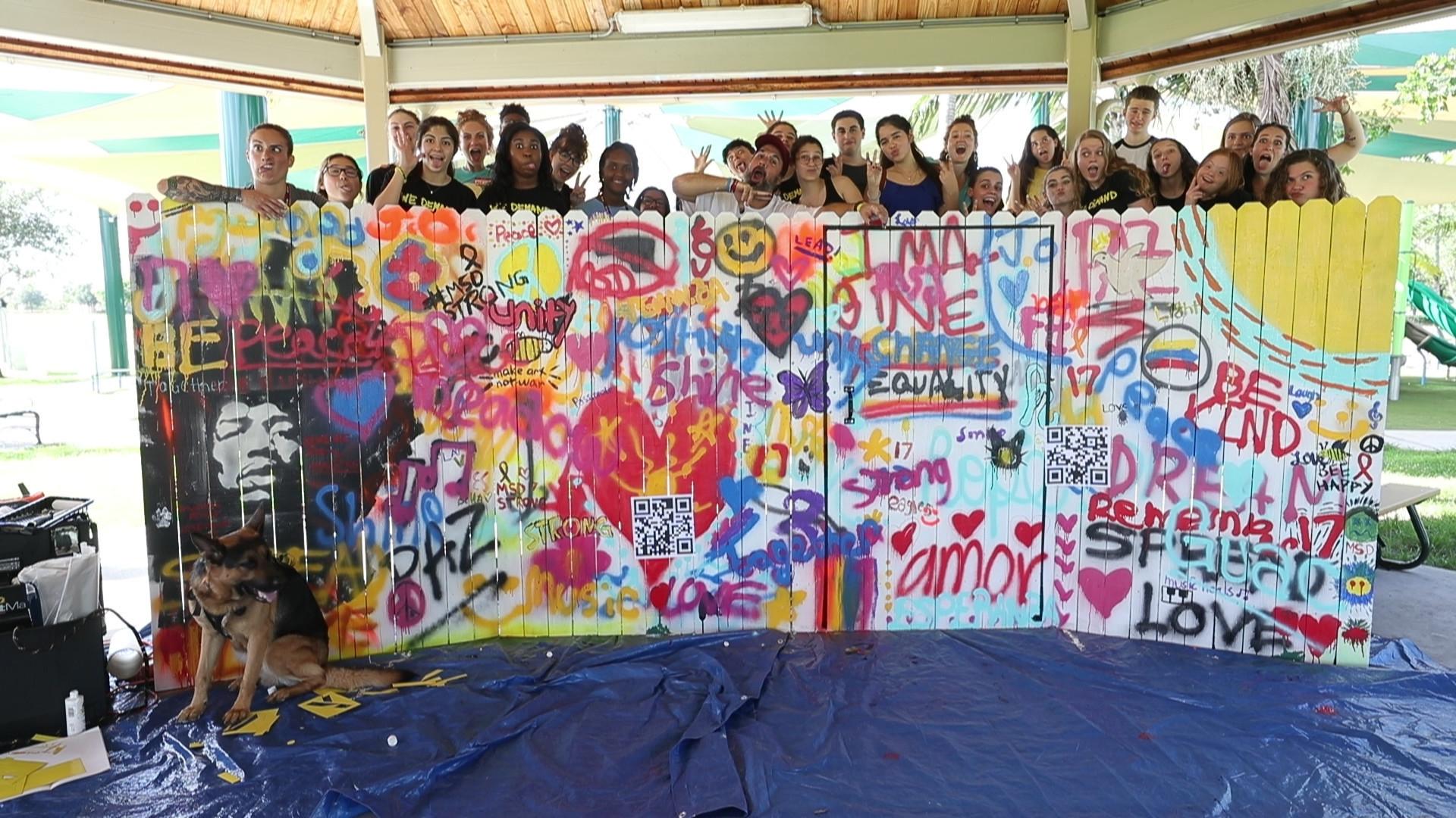 Father Of Slain Stoneman Douglas Student And Peers Use Art