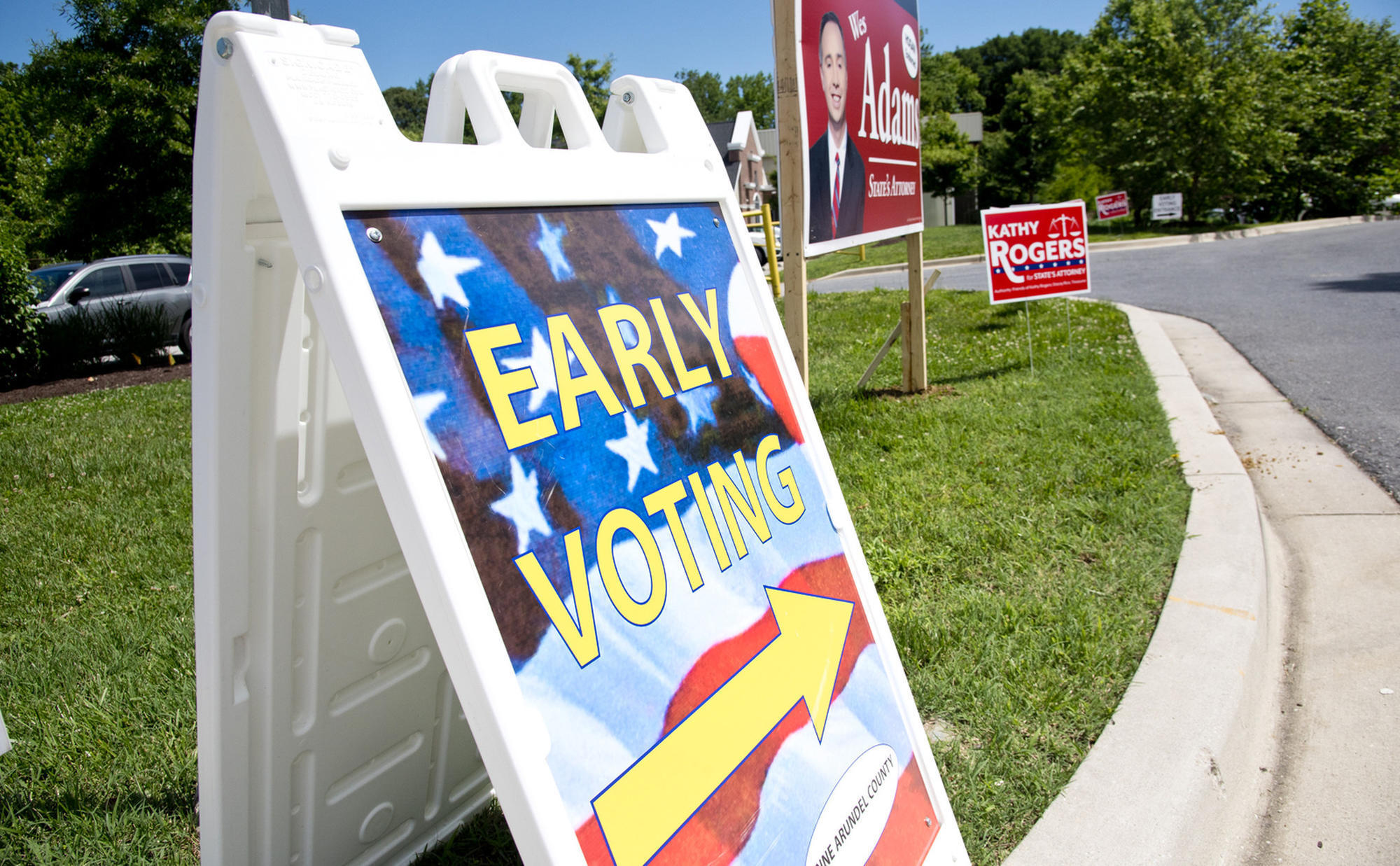 Maryland early voting is up 55 percent over 2014 turnout. What does that surge tell us?
