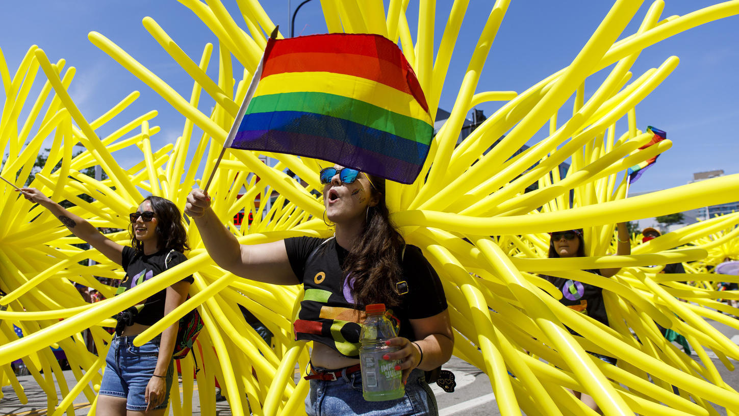 For parade-goers Pride is a day to enjoy unity speak up for equality