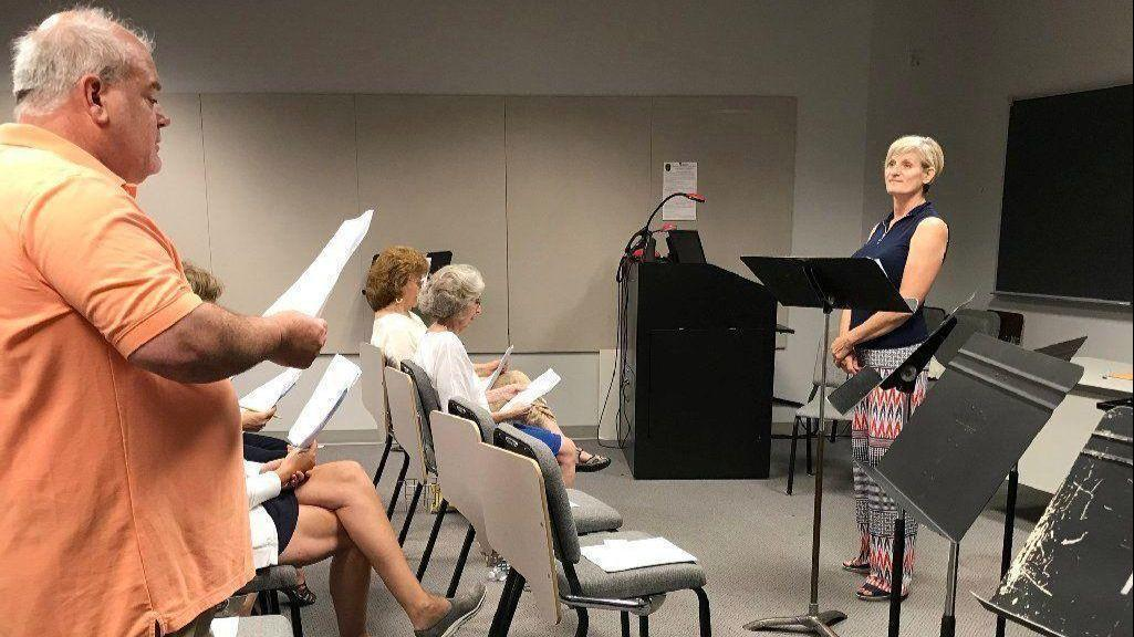 O' Say Can They Sing: AACC class makes National Anthem ...