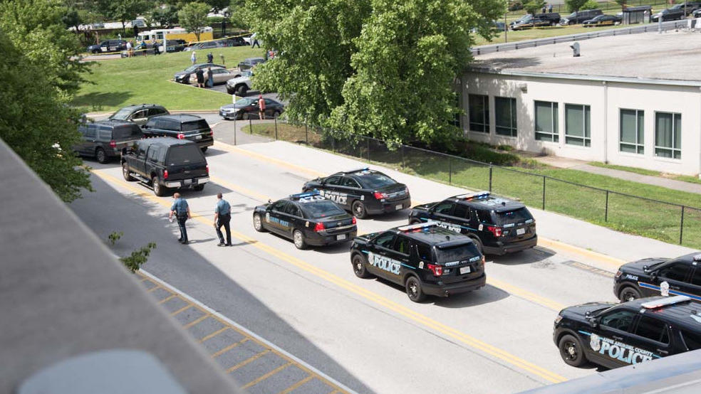 Shooting reported at Capital Gazette newspaper