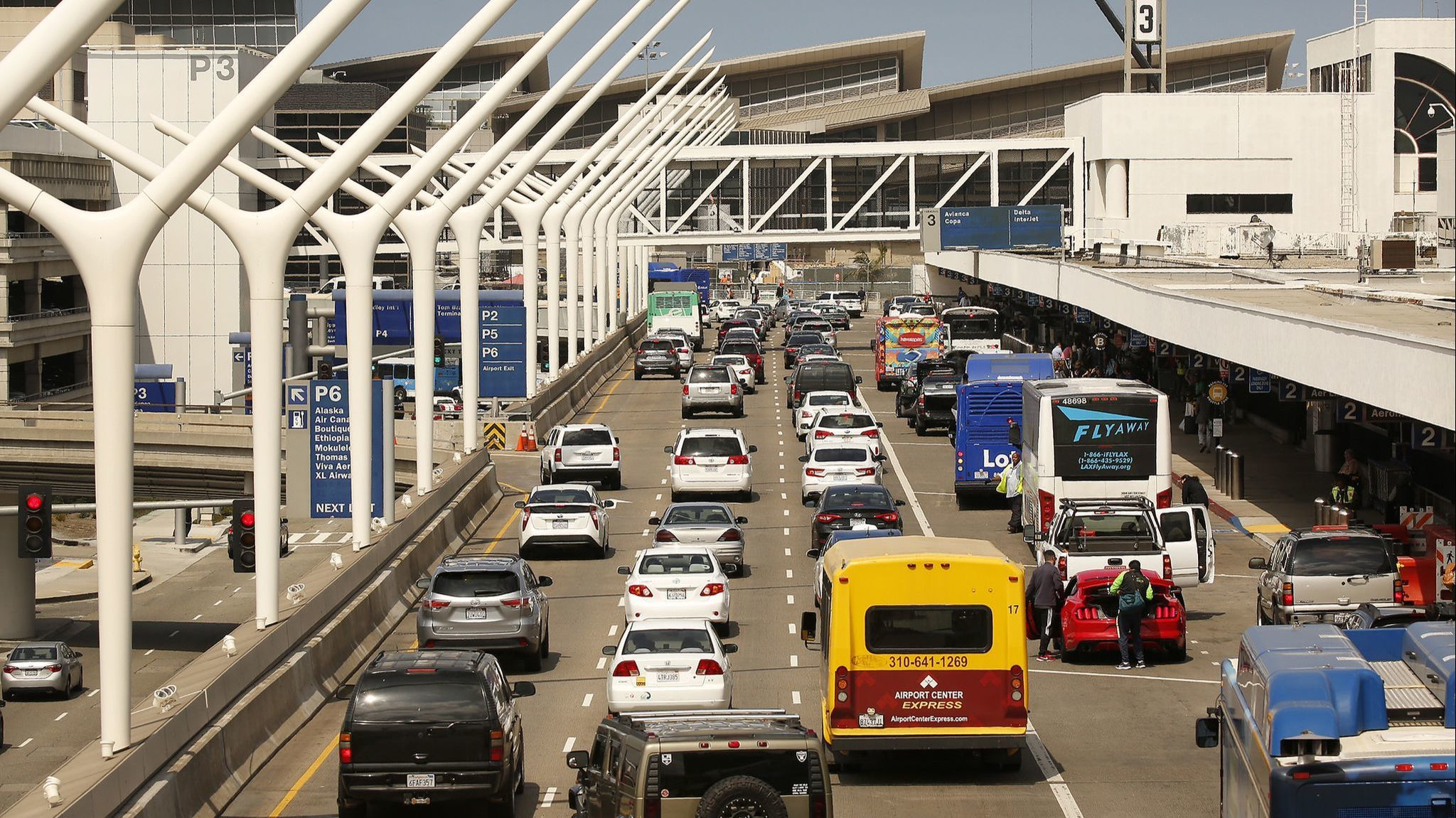 All the LAX parking lots are full and your flight is in an hour. Here's what to do