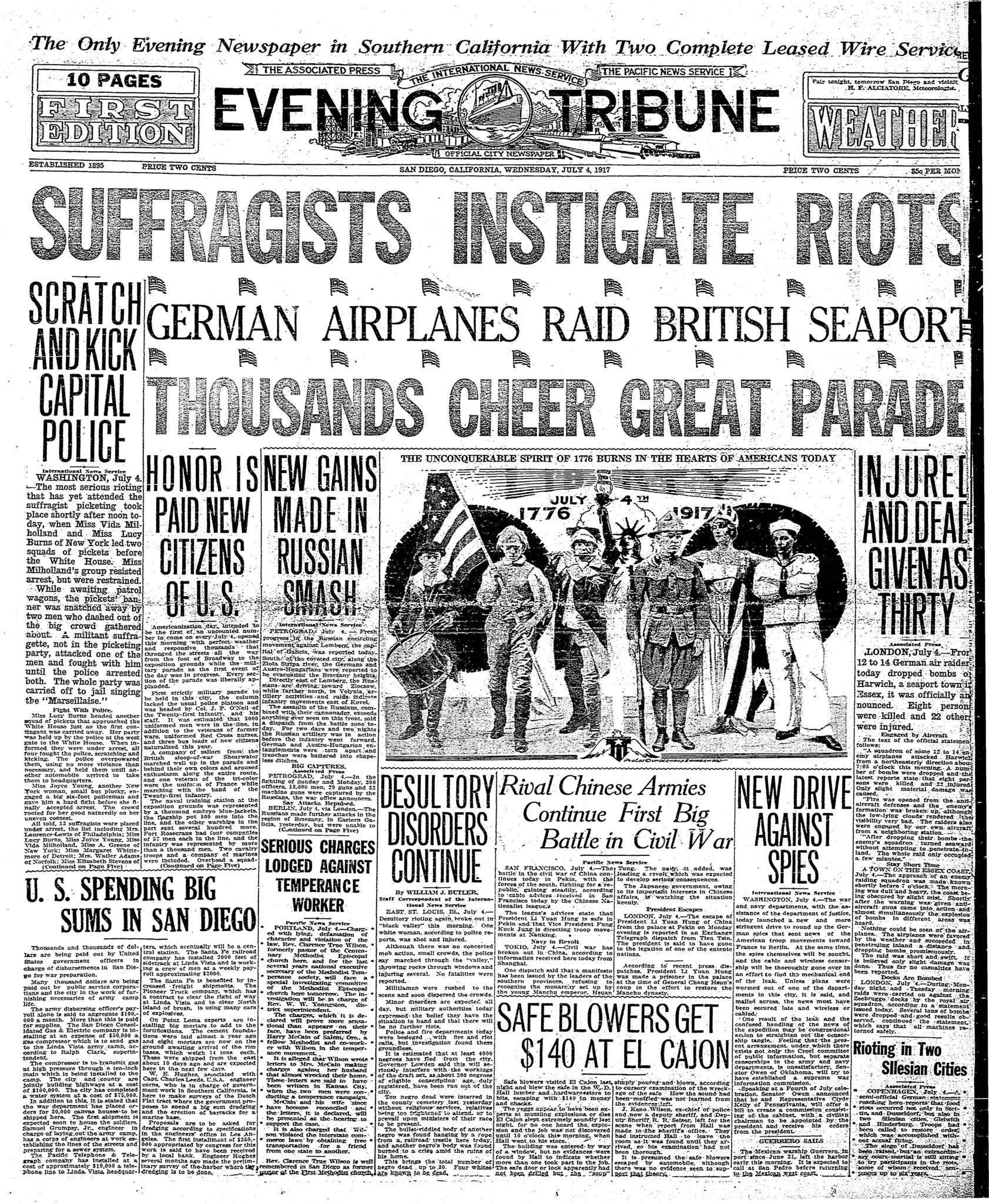 July 4, 1917