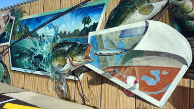 Pictures: The murals of Lake Placid, Florida