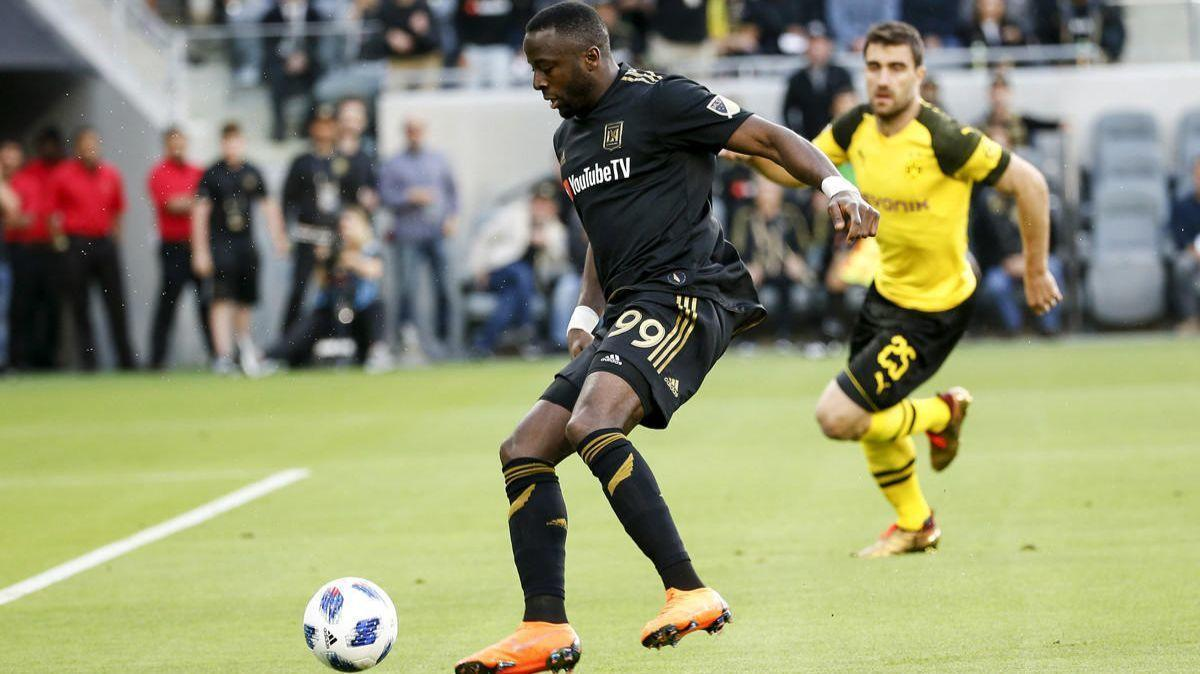 Adama Domande has LAFC's first hat trick in 4-1 victory
