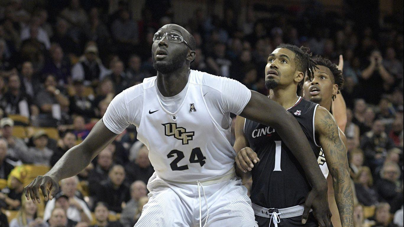 UCF center Tacko Fall, Knights push to improve ahead of ...
