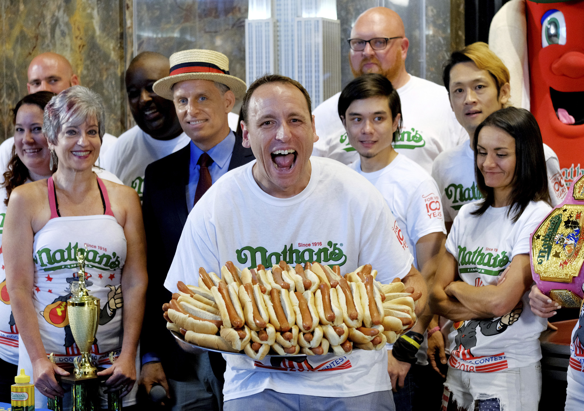 Nathans Famous Hot Dog Eating Contest Prize