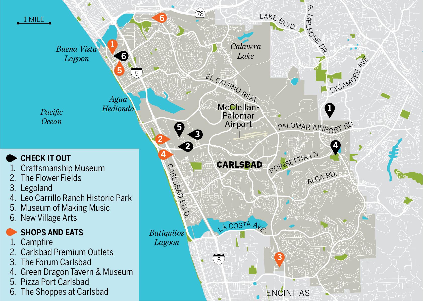 almanac carlsbad map photo