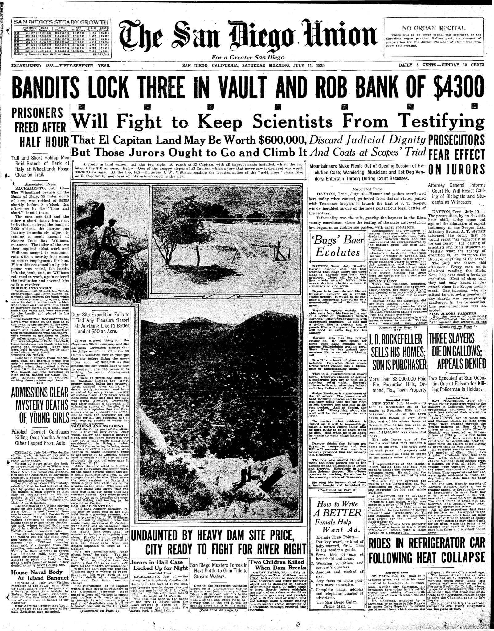 July 11, 1925