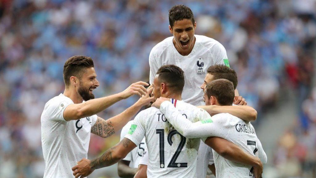 France advances to World Cup semis with 2-0 win over Uruguay