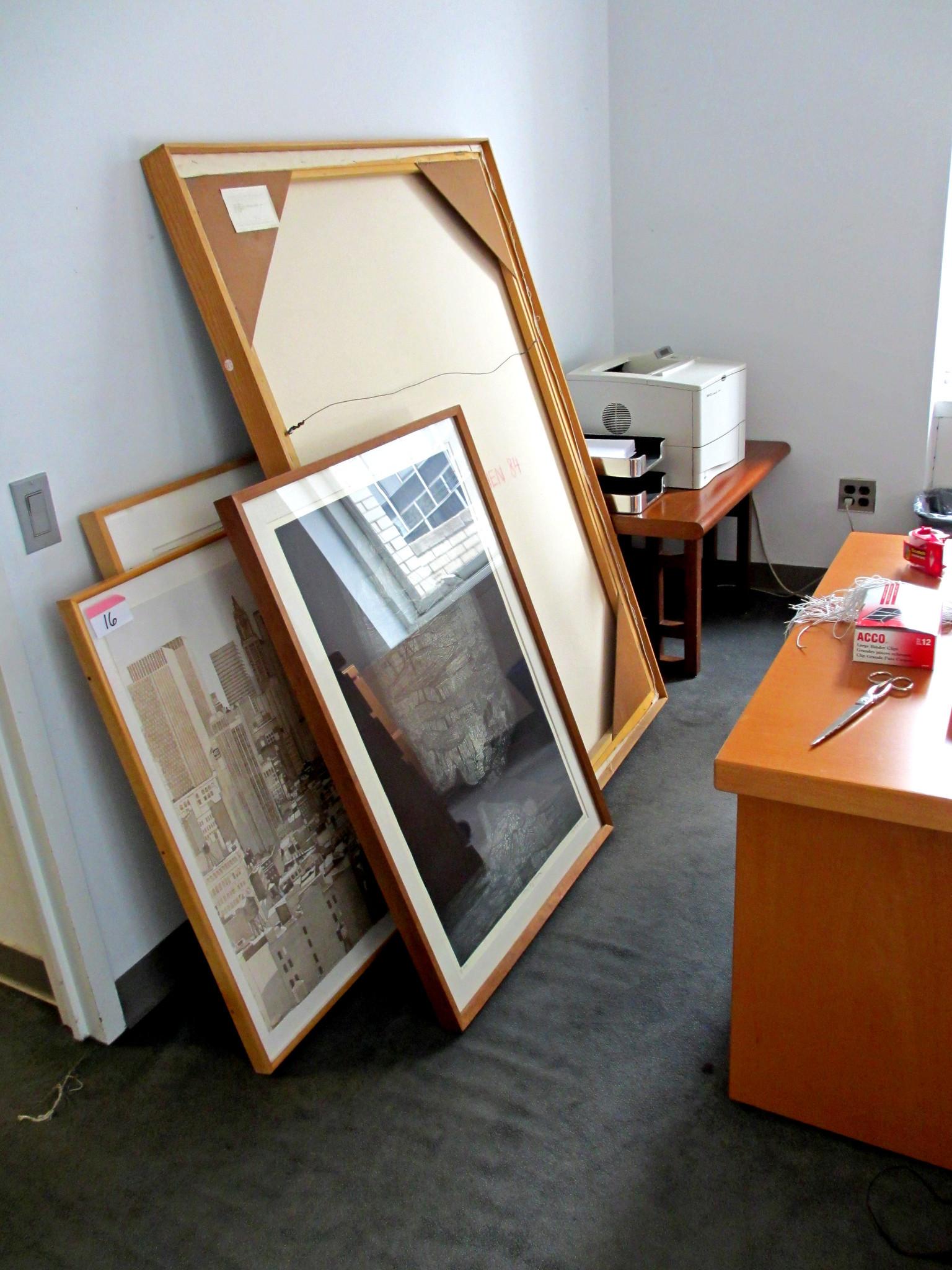 Artwork in the Times New York bureau